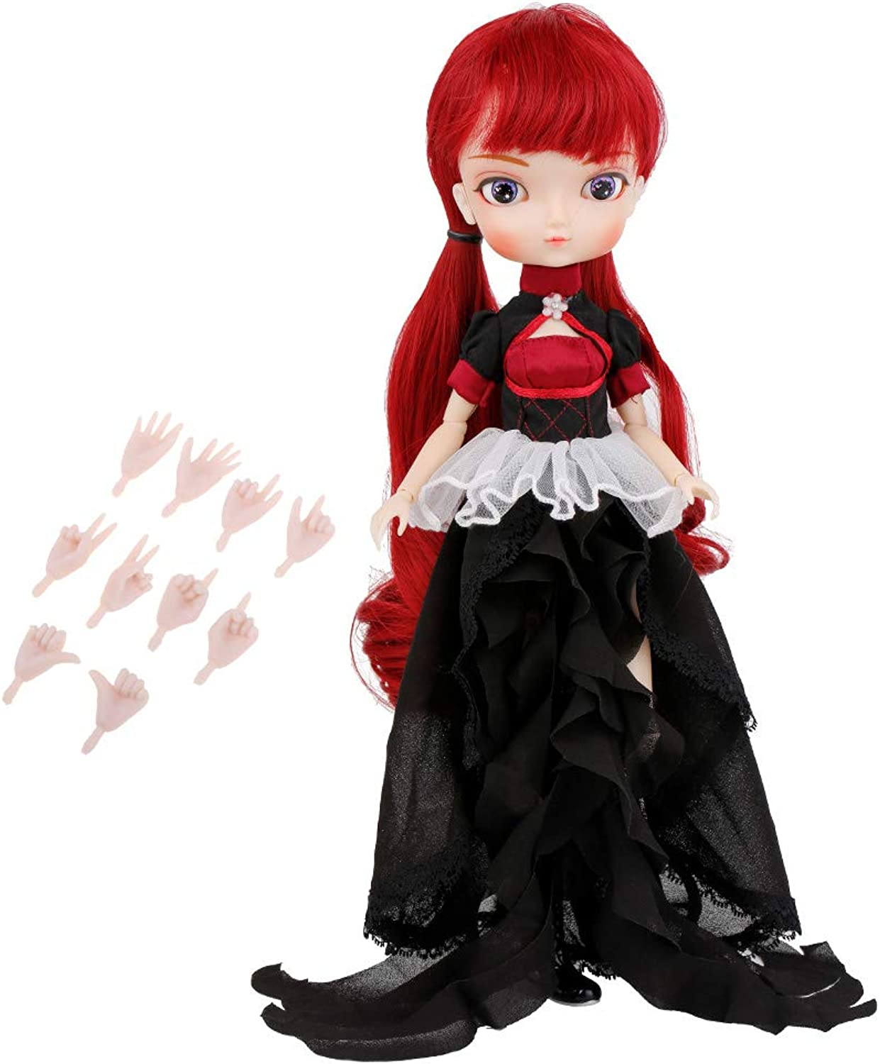 SM SunniMix Detachable 14Joints Make Up BJD SD Girl Doll 1 6 Ball Jointed Doll Collections Play Set Xmas New Year Birthday Gift Box