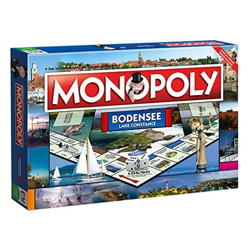 Monopoly Bodensee regionale Edition - Das berühmte Spiel um den großen Deal!