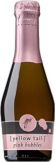 Yellow Tail Pink Bubbles Rose Wine Mini, Strawberries, lemon, 200 ml