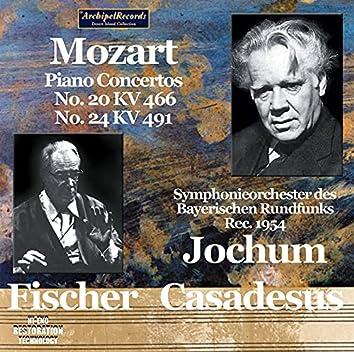 Mozart: Piano Concertos Nos. 20 & 24 (Live)