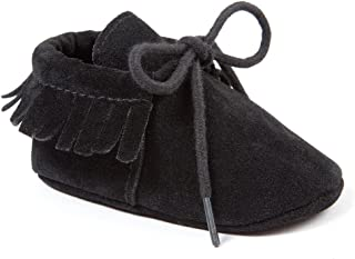 Toddler Baby Boys Girls Moccasins Tassels Soft Sole Non-Slip First Walkers Shoes