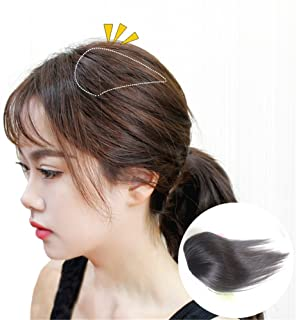Susanki 2 Clips in Human Hair Top Crown Closure for Thinning Hair 10