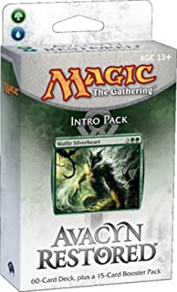 Magic the Gathering: MTG: Avacyn Restored Intro Pack: Bound by Strength Theme Deck (Green/Blue)