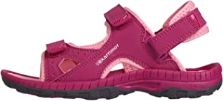 Official Brand Karrimor Antibes Sandals Child Girls Raspberry/Pink Flip Flop Thongs Beach Shoes