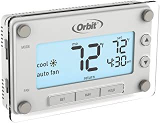 Orbit 5-Pack 83521 Clear Comfort Programmable Thermostat with Large, Easy-to-Read Display