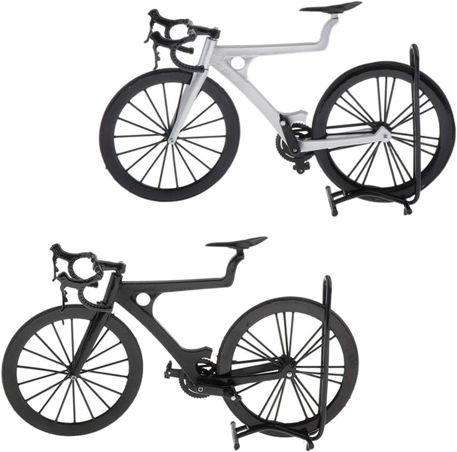 Milageto Set of 2 Recommendation 1:8 Scale Model Mountain Classic Racing Wholesale M Bike