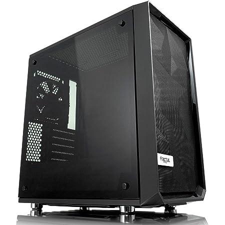 Fractal Design Meshify Mini C Tempered Glass ミニタワー型PCケース CS7104 FD-CA-MESH-C-MINI-BKO-TGD