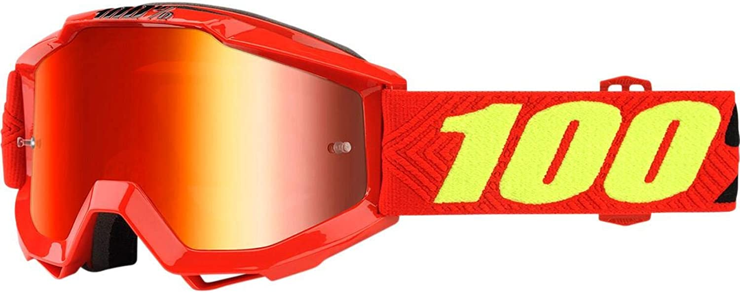 Inconnu 100% Accuri Youth Maske-MTB Unisex Kinder, rot
