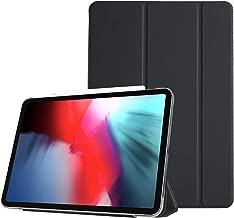 ProCase Custodia per iPad Pro 11 2018 [Supporto Apple Pencil Charging], Smart Cover Slim Leggera Magnetic con Cover Traslucida Smerigliata, Auto Svegliati/Sonno per Apple iPad Pro 11 Pollici 2018–Nero