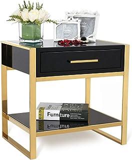 Armoire de Chevet Armoire de Rangement Chambre à Coucher Peinture Armoire de Rangement Dressing Complet Salon Table Basse ...