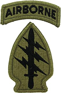 Special Forces Patch with Airborne Tab - MULTICAM