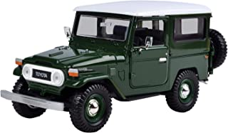 Motormax Toyota Fj 40 Die Cast Model - 14 Years And Above, Green For 14 Years & Above