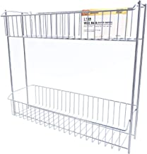 Citylife R2-451439 2 Tier Wire Rack (Silver Coated), 450 * 140 * 390mm, Chrome