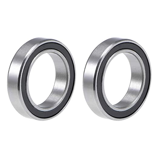 6804-2RS Metal Rubber Ball Bearing Bearings BLACK 6804RS 20x32x7 mm 5 PCS