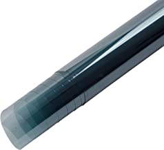 RONGSHU 0.8x10m Lichtblauw Auto Auto Huis Venster Tint VLT 75% Solar Tint Nano Keramische Decoratieve Auto Sticker Zomer S...