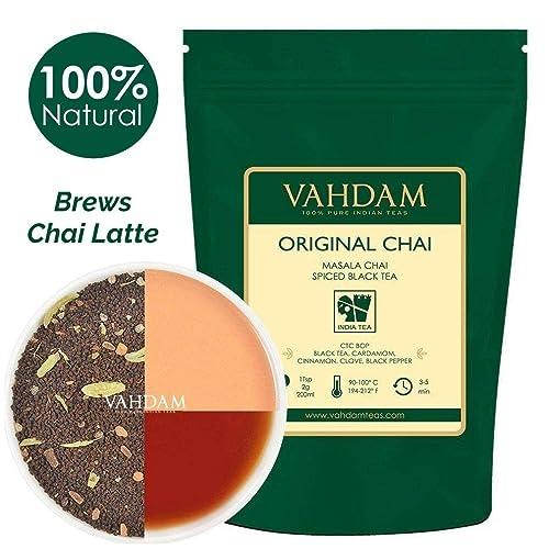 Hoja original india Masala Chai - 50 tazas, 100 gramos - Mezcla perfecta de té