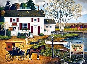 Buffalo Games - Charles Wysocki - Birch Point Cove - 1000 Piece Jigsaw Puzzle by Buffalo Games
