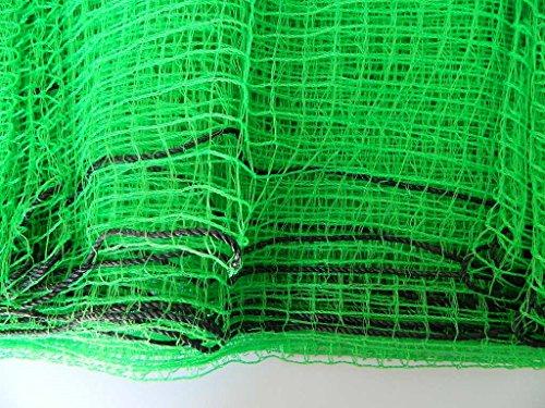 labolota Filet Vert Maille 1,7x1,7cm clôture Protection Jardin enclos Animaux Poules Vert 8x1m