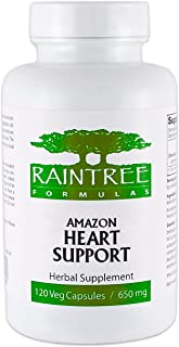 Raintree Amazon Heart Support 650mg 120 Veg Capsules by Raintree Formulas
