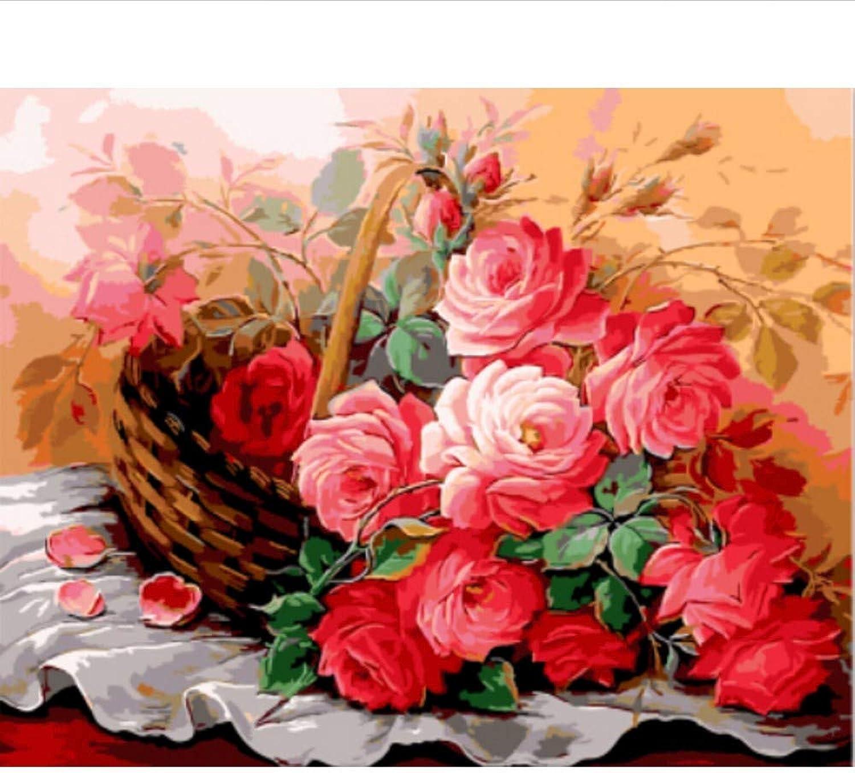 Waofe Gerahmte Bilder Malen Nach Zahlen Europa Rosa Blaume Handarbeit Handarbeit Handarbeit Leinwand Ölgemälde Wohnkultur Für Wohnzimmer Gx9143 B07PY7MPV4 | Neuer Eintrag  0cf508