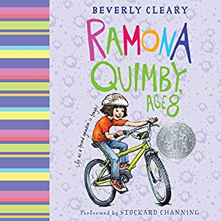 Ramona Quimby, Age 8                   By:                                                                                                                                 Beverly Cleary                               Narrated by:                                                                                                                                 Stockard Channing                      Length: 2 hrs and 6 mins     163 ratings     Overall 4.5
