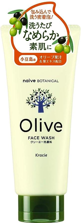 の間でできれば工業用オリーブの恵み ナイーブ ボタニカル クリーミー洗顔料130g