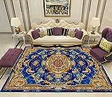 Alfombra moderna para salón (200 x 300 cm), para dormitorio de niños, de pelo corto, para sala de grandes cuadros de cama (alfombra D7)