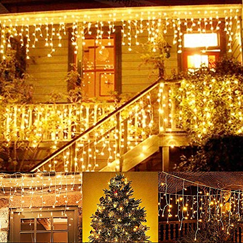 BUOCEANSLED Catena Luminosa, 216 LED 5 m Natale...
