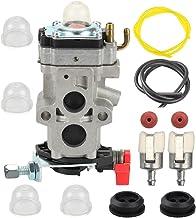 Butom WYA-79 Carburetor with Fuel Line Filter Grommet for Husqvarna 350BT 150BT Backpack..