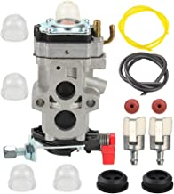 Butom WYA-79 Carburetor with Fuel Line Filter Grommet for Husqvarna 350BT 150BT Backpack Leaf Blower 581177001