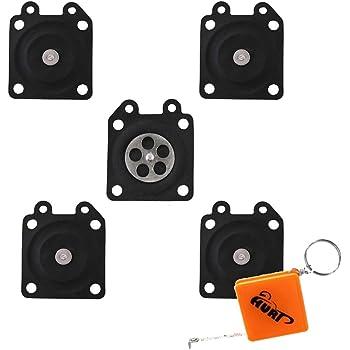 Gaoominy 30Pcs Pi/èces de Carburateur Tampons de Membrane de Carburateur Tron?onneuse Pour Zama Tron?onneuse Carburateur 2500//3800//4500//5200//5800 Accessoires