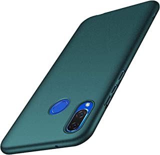 ACMBO for Huawei P Smart+ (Nova 3i) Case, [Sand Gravel Series] Ultra Thin Slim Fit [Anti-Drop] Shockproof Hard Plastic Phone Cases Cover Compatible for Huawei Nova3i, Gravel Green