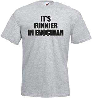 it's funnier in enochian t shirt