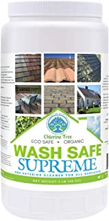 Wash Safe Industries SUPREME CLEAN Eco-Safe and All Natural Exterior Surface Cleaner, 3 lb Container