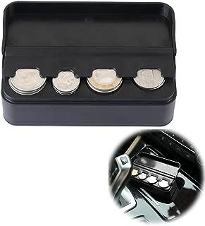 JoyTutus Car Coin Holder Change Organizer fits Chevy Ford Dodge GMC BMW Ram Trucks SUVs Accessories