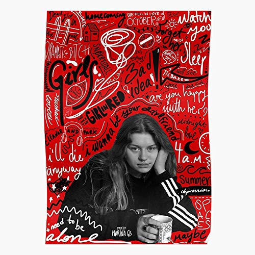 Girls Anyway Be In Die I Depression Idea We The Fell Your October Girl Wanna Summer Red Ill Pool Girlfriend Bad Love Dead Home Decor Wall Art Print Poster !