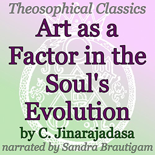 Art as a Factor in the Soul's Evolution audiobook cover art