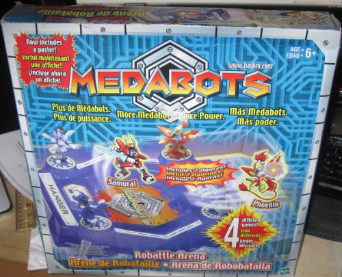 Medabots Robattle Arena Playset with 2 Exclusive Figures