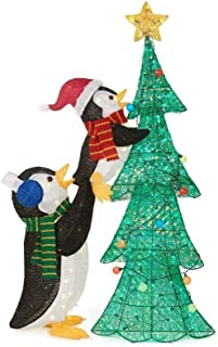 penguin holiday decorations