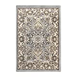 """DURABLE, SOFT, and PLUSH: Crafted with 100% Polypropylene fibers and a cozy, 0.31"""" pile height which can withstand frequented rooms in your home while remaining cozy underfoot. This gorgeous rug is OEKO-TEX Certified to ensure environmental and safet..."""