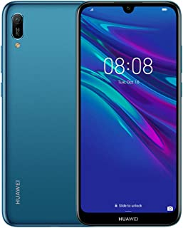 Huawei Y6 Prime 2019 6.09 inch FullView Dewdrop Display Smartphone with Dual Camera, 2GB+32GB, Android 9.0 Sim-Free, Sapphire blue