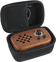 Hermitshell Hard EVA Travel Case Fits Rerii Handmade Walnut Wood Portable Bluetooth Speaker
