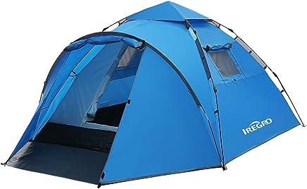 Multicolore 1 | no. 401027 TecTake Tente igloo pour enfants avec tunnel tente de jeu diverses couleurs au choix - sac 200 balles