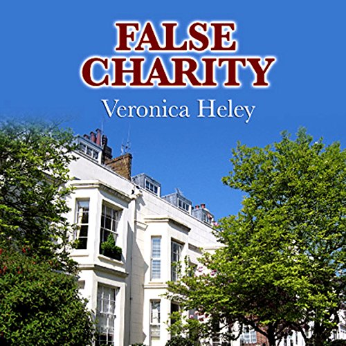 False Charity audiobook cover art