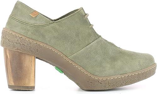 El Naturalista NF70 Pleasant Kaki Lichen Vert Femme Chaussures Chaussures Chaussures Lacets a95