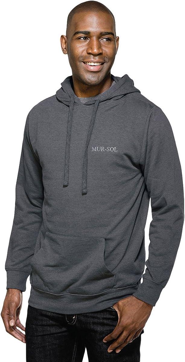 Tri-Mountain F589 Regard Hooded Sweatshirt - Charcoal - LT