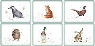 Pimpernel Wrendale Placemats - Set of 6