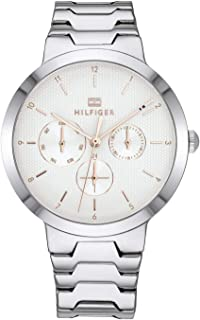 Tommy Hilfiger Women'S White Dial Stainless Steel Watch - 1782075