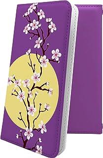 V30+ L-01K ケース 手帳型 花柄 花 フラワー サクラ 桜 小桜 夜桜 プラス 和柄 和風 日本 japan 和 v30 l01k plus おしゃれ HJn19835gKp
