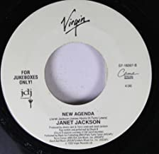 Janet Jackson 45 RPM New Agenda / You Want This